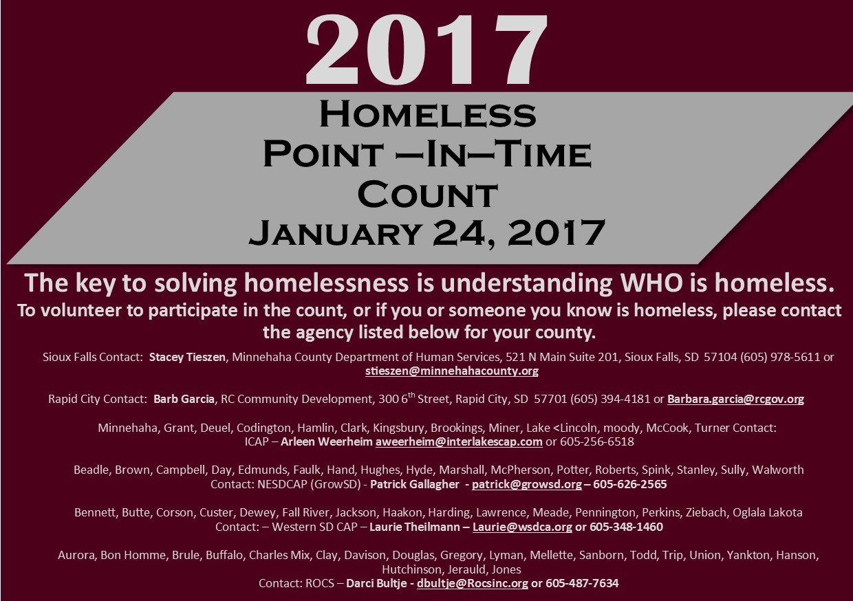 Details for 2017 Homeless Count